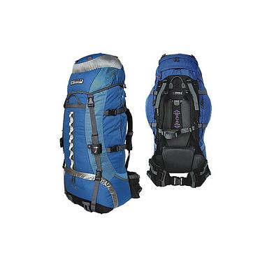 Рюкзак туристический Terra Incognita Vertex 80 синий-голубой
