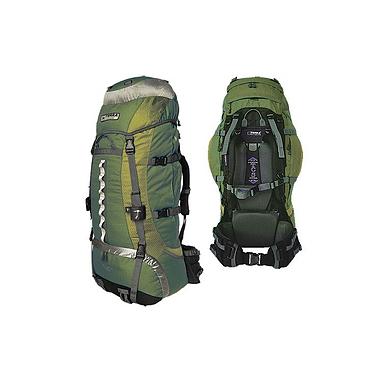 Рюкзак туристический Terra Incognita Vertex 80 зеленый