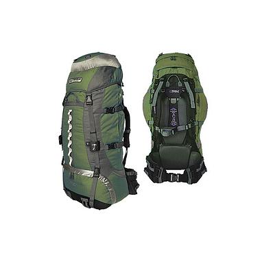 Рюкзак туристический Terra Incognita Vertex 100 зелено-серый