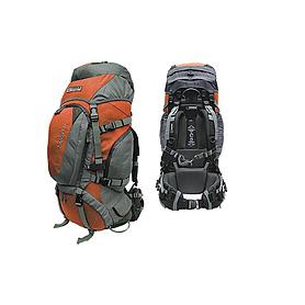 Фото 2 к товару Рюкзак туристический Terra Incognita Discover 55 оранжево-серый + подарок