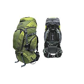 Фото 2 к товару Рюкзак туристический Terra Incognita Discover 55 зеленый + подарок