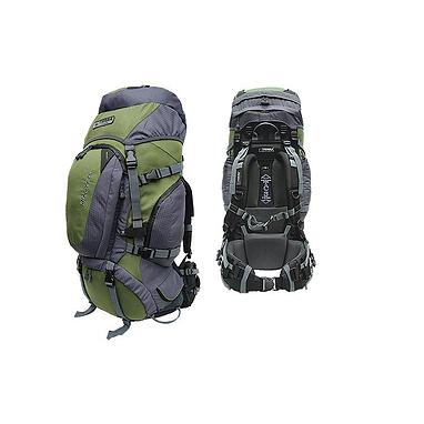 Рюкзак туристический Terra Incognita Discover 100 зелено-серый + подарок