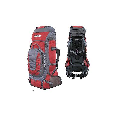 Рюкзак туристический Terra Incognita Fronter 70 красно-серый + подарок