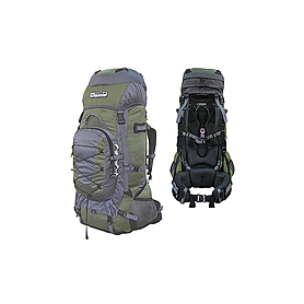 Фото 1 к товару Рюкзак туристический Terra Incognita Fronter 70 зелено-серый