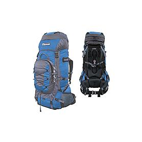 Фото 1 к товару Рюкзак туристический Terra Incognita Fronter 90 сине-серый