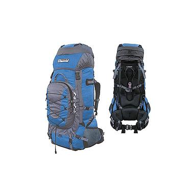 Рюкзак туристический Terra Incognita Fronter 90 сине-серый