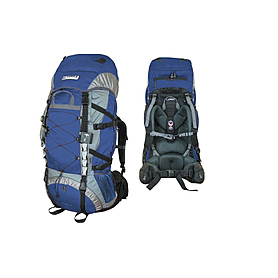 Рюкзак треккинговый Terra Incognita Trial 55 сине-серый