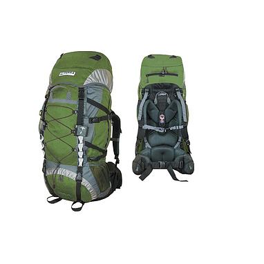 Рюкзак треккинговый Terra Incognita Trial 90 зелено-серый