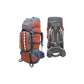 Фото 2 к товару Рюкзак туристический Terra Incognita Mountain 50 оранжево-серый + подарок