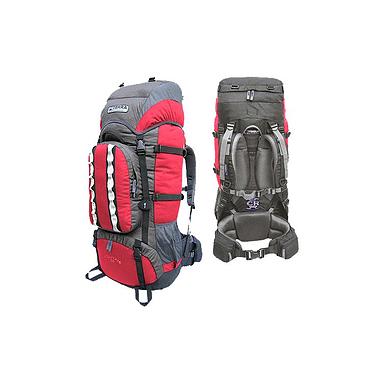 Рюкзак туристический Terra Incognita Mountain 65 красно-серый