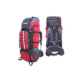 Рюкзак туристический Terra Incognita Mountain 80 красно-черный