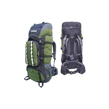 Рюкзак туристический Terra Incognita Mountain 80 зелено-черный
