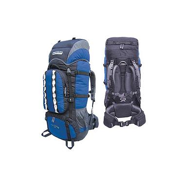 Рюкзак туристический Terra Incognita Mountain 80 сине-черный