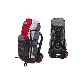 Рюкзак спортивный Terra Incognita Tour 45 красно-серый