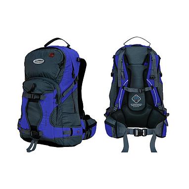 Рюкзак спортивный Terra Incognita Snow-Tech 30 сине-серый
