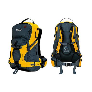 Рюкзак спортивный Terra Incognita Snow-Tech 30 желто-серый