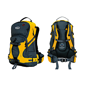 Рюкзак спортивный Terra Incognita Snow-Tech 40 желто-серый
