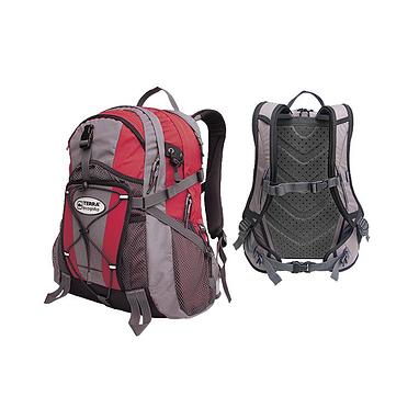 Рюкзак повседневный Terra Incognita Vector 26 красно-серый