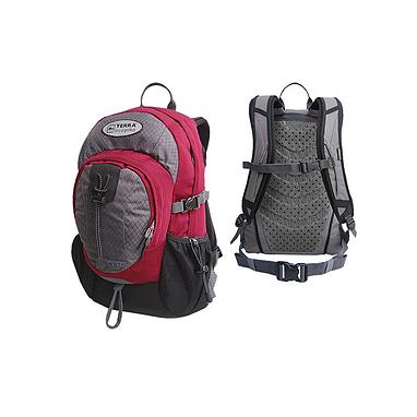 Рюкзак повседневный Terra Incognita Aspect 20 красно-серый