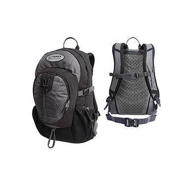 Рюкзак повседневный Terra Incognita Aspect 20 черно-серый