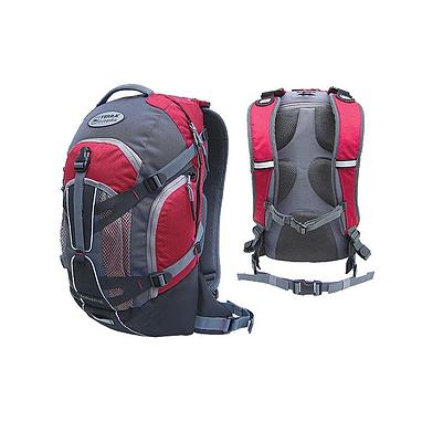 Рюкзак повседневный Terra Incognita Dorado 22 красно-серый