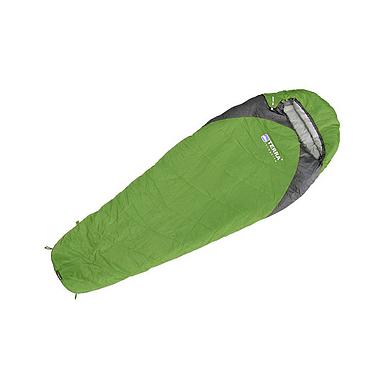 Мешок спальный (спальник) Terra Incognita Junior 200 правый зеленый