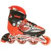 Коньки роликовые раздвижные Teku Skate TK-S6-001 красные - фото 1