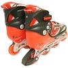 Коньки роликовые раздвижные Teku Skate TK-S6-001 красные - фото 3
