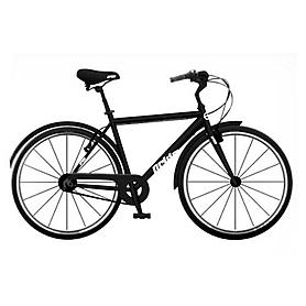 """Велосипед мужской 28"""" Pride Comfort Black Man 6 рама - 20"""" матово-черный"""