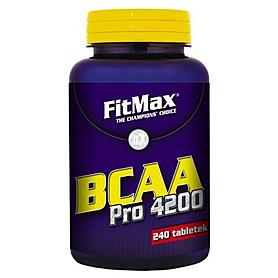 Аминокомплекс FitMax BCAA Pro 4200 (240 капсул)