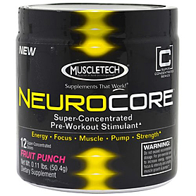 Фото 1 к товару Энергетик MuscleTech Neurocor Punch (12 порций)