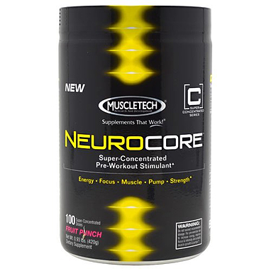 Энергетик MuscleTech Neurocor Punch (100 порций)