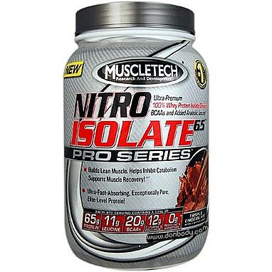 Протеин MuscleTech Nitro Isolate 65 Pro (908 гр)