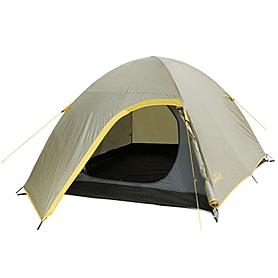 Фото 1 к товару Палатка двухместная с тамбуром Campus R00191 бежево-желтая