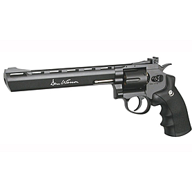 Револьвер пневматический ASG Dan Wesson 8'' Grey 4,5 мм
