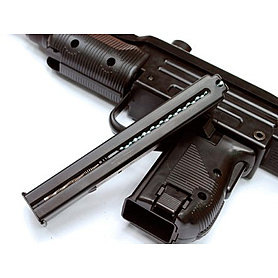 Фото 2 к товару Пистолет пневматический KWC KMB-07 (UZI) 4,5 мм Blowback