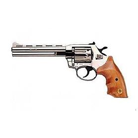 Фото 1 к товару Револьвер под патрон Флобера Alfa 461 с деревянной рукояткой 1431.00.02