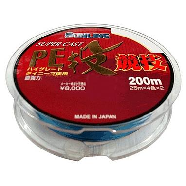 Шнур Sunline S-Cast PE Nagi Kyogi 200м 2/0.235мм 14.3кг