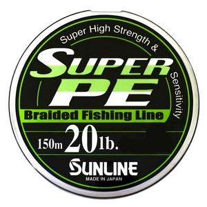 Шнур Sunline Super PE 150м  0.235мм 20LB/9кг белый