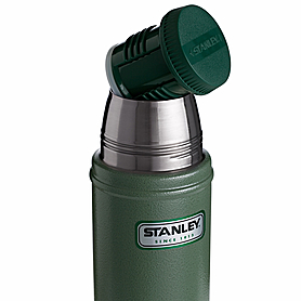 Фото 4 к товару Термос Stanley 470 мл зеленый