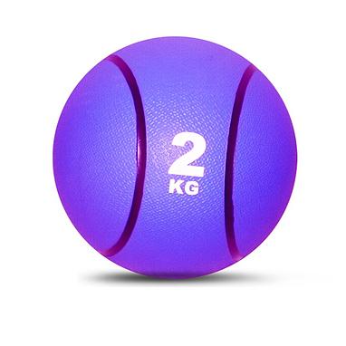 Медбол резиновый 2 кг
