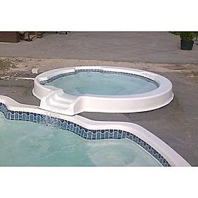 "Спа-бассейн Fiber Pools ""Эден"" переливной"