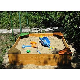 Песочница деревянная для детей