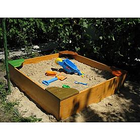 Фото 2 к товару Песочница деревянная для детей