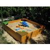 Песочница деревянная для детей - фото 2