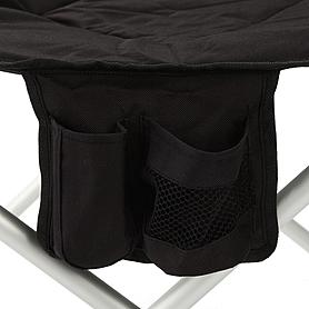 Фото 3 к товару Кресло раскладное с уплотненной спинкой и жесткими подлокотниками Tramp