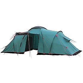 Палатка четырехместная Tramp Brest 4 зеленая