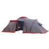Палатка четырехместная Tramp Brest 4 серая - фото 1