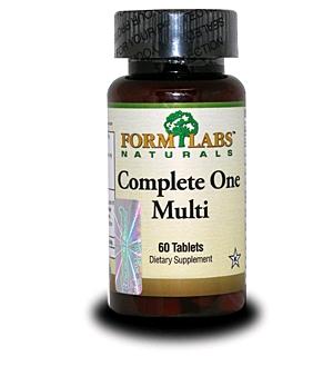 Комплекс витаминов и минералов FormLabs Complete One Multi (60 капсул)