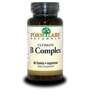 Витамины группы В FormLabs Ultimate B-Complex (60 капсул)